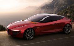 Alfa Romeo Gloria concept left side
