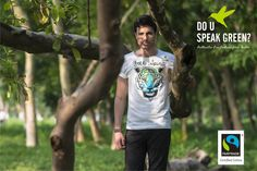 A very Sporty & futuristic interpretation of a Tiger print animal motif , defining its Free spirit . Crafted from Fair Trade Organic Cotton this t-shirt is a pleasure to wear. Tailored with half sleeve and a crew neck. You can layer this Tee with a plain shirt , Dress jacket or simply pair it up with rugged jeans..... DUSG? believes the consumers deserves the CHOICE to BUY clothing that feels GOOD to wear with the Knowledge of knowing HOW & HERE they are produced…