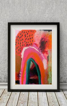 Abstrakte Malerei abstrakte Kunst abstrakte von sarahdonnell