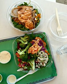 WIAW Saturday food / Lunch at Maoz with Paleo Running Momma / The Cookie ChRUNicles