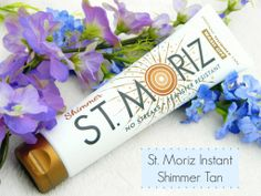 Review of the new St Moriz Instant Shimmer Fake Tan