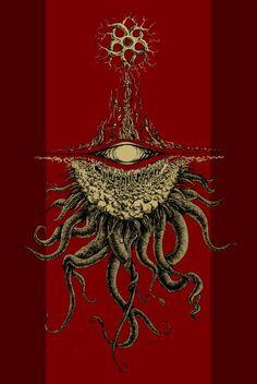 "sefironaut: ""Azathoth (inspired by H. P. Lovecraft) """
