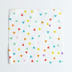 20 My Little Day multicoloured triangle napkins