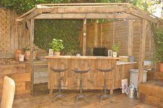 Fresh gardens - Reclaimed garden bar.