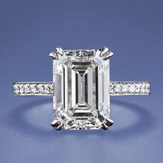 Want.  Emerald cut ring