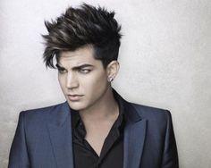 Adam Lambert .. I'm aware he's gay, I don't care , I love him haha