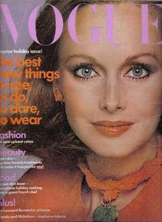 the Estee Lauder Model Karen Graham