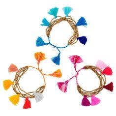 Brass Tassel Bracelet