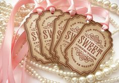 Candy Sweet Tags  Vintage Inspired with Cotton Candy by amaretto, $6.25  The perfect medicine!