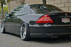 Mercedes Benz CL500 W215 on D2Forged VS7