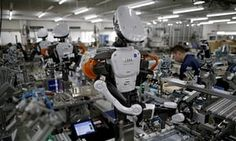 Humanoid robots work