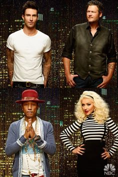 The Voice is a blind audition singing competition that engages all tastes of music. The judges are from country, pop, rock, singer/ songwriter backgrounds and give aspiring singers the coaching and motivation to fulfill their dreams.