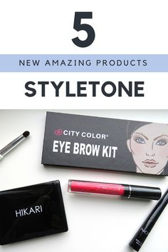 Do you know Styletone? No? Well, you definitely need to know this beautiful brand. Today I will show you the beauty products I got from Styletone <3