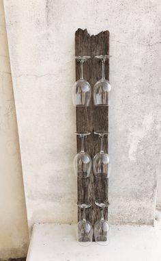 Repurposed garden rake mason jar wine glass rack with for Muebles barbed