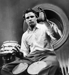 A rumbero deep in his heart, this Mambokat legend had an addiction to the drum. Marlon Brando loved afro cuban music and championed the culture all his life. Jack Costanzo, Mongo Santamaria, Tito Rodriguez and Puente. He loved them all.