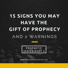 15 Signs or Traits that you have the Gift of Prophecy and 2 Warnings against false prophets, Jezebel and familiar spirits. Characteristics of the prophetic gift. Christian Love, Christian Living, Jezebel Spirit, Understanding Depression, The Gift Of Prophecy, God Jesus, Jesus Christ, Spirit Quotes, Worship The Lord