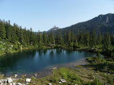 CAD lake - alpine lakes wilderness