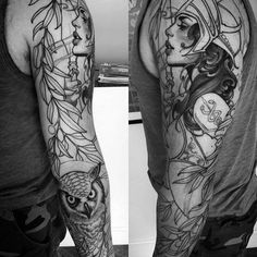 60 Athena Tattoo Designs For Men - Ancient Greek Goddess Ideas - Guys Designs Athena Tattoos You are in the right place about 60 Athena Tattoo Designs For Men – An - Leg Sleeve Tattoo, Leg Tattoo Men, Best Sleeve Tattoos, Leg Tattoos, Tattoos For Guys, Tattoos For Women, Grey Tattoo, Tattoo Ink, Tatoos