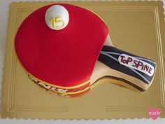 Homemade Cakes: ~ ping pong fan ~