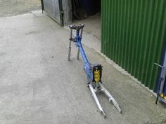 Honda 90 trials conversion (mono-shock) in The Repair Shed ...