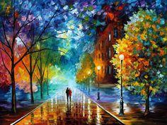 leonid afremov paintings - Pesquisa Google