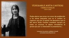 Anita Cantieri, Carmelita Seglar