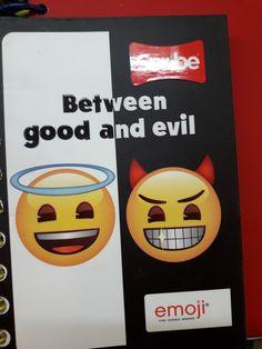 Good And Evil, Emoji, Emoticon