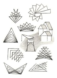 Waldorf ~ 5th grade ~ Freehand Drawing ~ Geometry  Check out www.NYHomeschool.com as well.