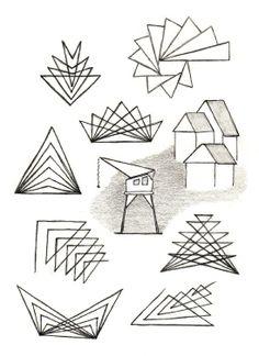Waldorf ~ 5th grade ~ Freehand Drawing ~ Geometry