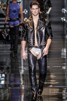 Versace menswear collection, autumn/winter 2014