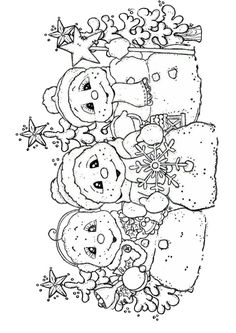 Malvorlagen Archives - Page 341 of 637 - Pins Coloring Book Pages, Printable Coloring Pages, Snowman Coloring Pages, Christmas Colors, Christmas Art, Christmas Images, Christmas Coloring Sheets, Illustration Noel, Embroidery Patterns