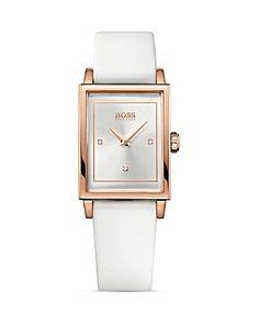 HUGO BOSS Ultra Slim Ionic Rose Gold Plated Steel Watch, 26mm | Bloomingdale's