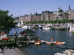 images of Sweden | Summer brings sunny days and a lively collection of boats to Stockholm ...
