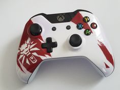 Witcher 3 themed Xbox Controller