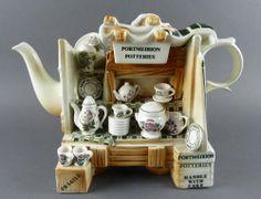 Cardew PORTMEIRION Botanic Garden China Market Stall Large Teapot