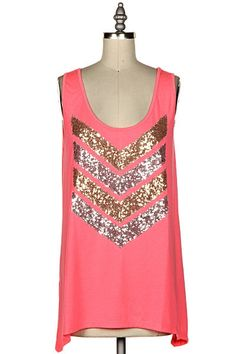 I'M SO FANCY Pink Sequin Tank Top SHOPSIMPLYME.com – Shop Simply Me – Clothing boutique Naples, FL - #shopsimply
