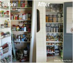 19 Great DIY Kitchen Organization Ideas- Pantry organizing