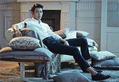 Modern Vintage Style   Kim Woo Bin