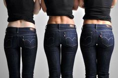 Curve jeans. Well, they are not really the same, you know?