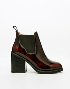 Red is a great colour for AW, as seen on these Chelsea boots. http://asos.do/pnsJ84