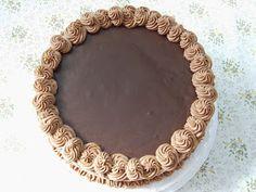 Csokoládé torta Sweet Recipes, Cake Recipes, Fondant, Decorative Plates, Muffin, Food And Drink, Sweets, Chocolate, Desserts