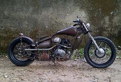 Honda Tiger # Chopper # Old School # Victorious Custom Works # Indonesian # West…