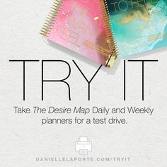 Torn? Try the Desire Map Planner Collection right now!