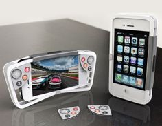 Solar bluetooth case for iPhone with Gamepad