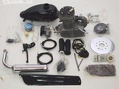 Benzinový motor do jízdního kola - obrázek číslo 1