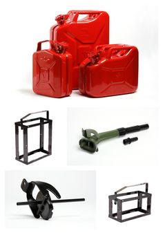 VALPRO accessories for jerry cans