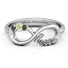 #Hessa Infinity Ring. #hessaafter  #jewlr