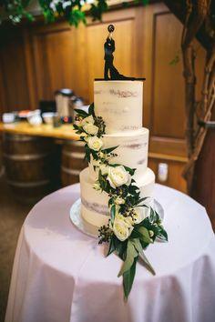 Semi naked iced wedding cake with basketball topper Wedding Stuff, Our Wedding, Dream Wedding, Wedding Cake Toppers, Wedding Cakes, Basketball Wedding, Knot, Naked, Ivory