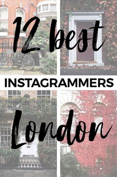 12 London Instagrammers to Get You Inspired for Your Next Trip - LONDON INSTAGRAM #london #londonlife #instagram Plus some of the top hashtags right now