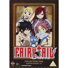 Fairy Tail Collection One [DVD] ($19) ❤ liked on Polyvore featuring dvd and fairy tail